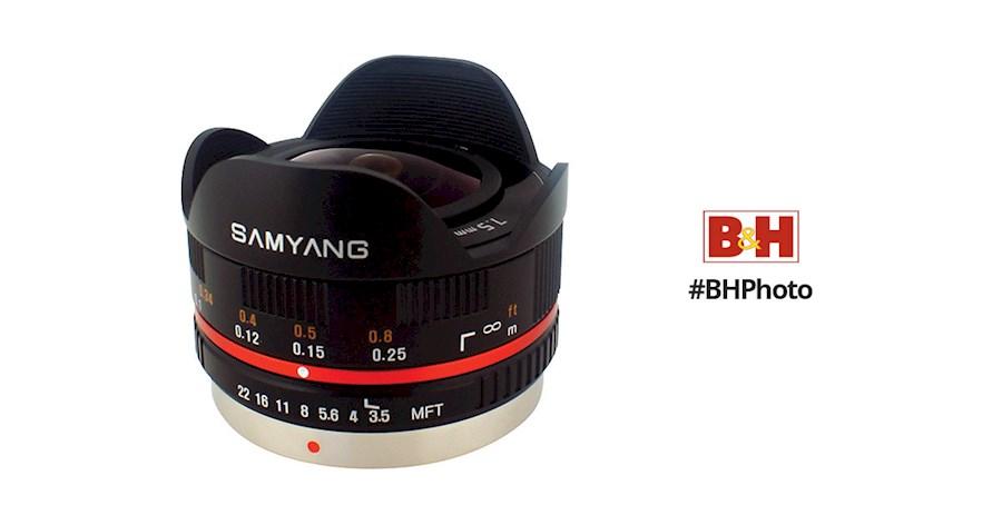 Rent Samyang 7.5mm Fish Eye from Bryan