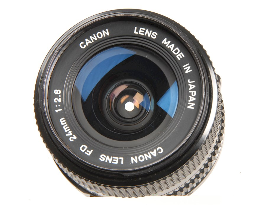 Rent a Canon FD 24mm 1:2.8 in Ede from Duncan