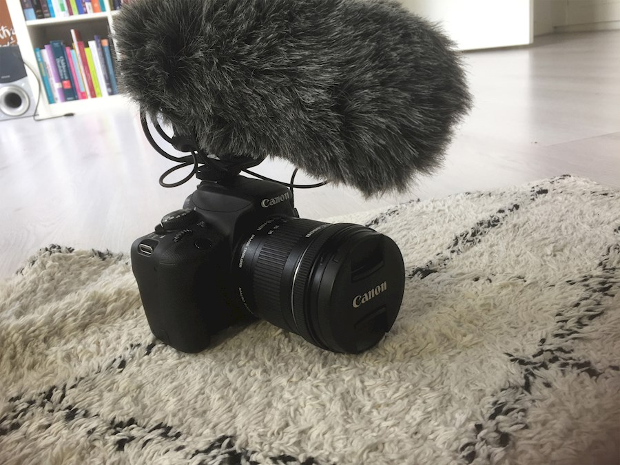 Rent a Canon 100D + Rode VideoMic Pro + 18-55mm IS + 50mm 1.8 + 10-18mm + extra batterij in Groningen from Sam