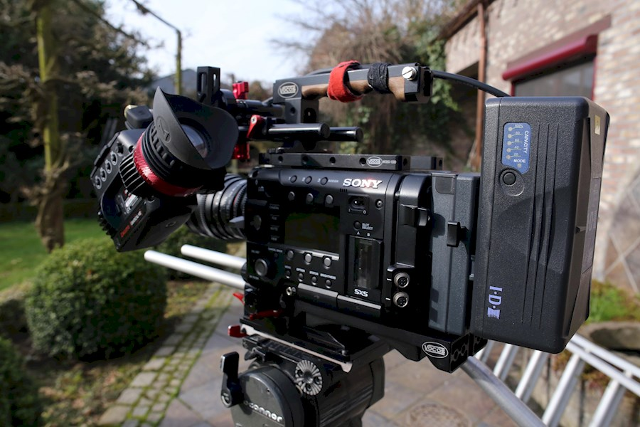 Rent a Sony F55 in Geel from BVBA LIGHT IN MOTION