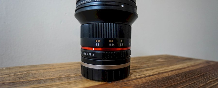 Rent a Samyang 12mm 2.0 Sony E mount in Den bosch from Bas
