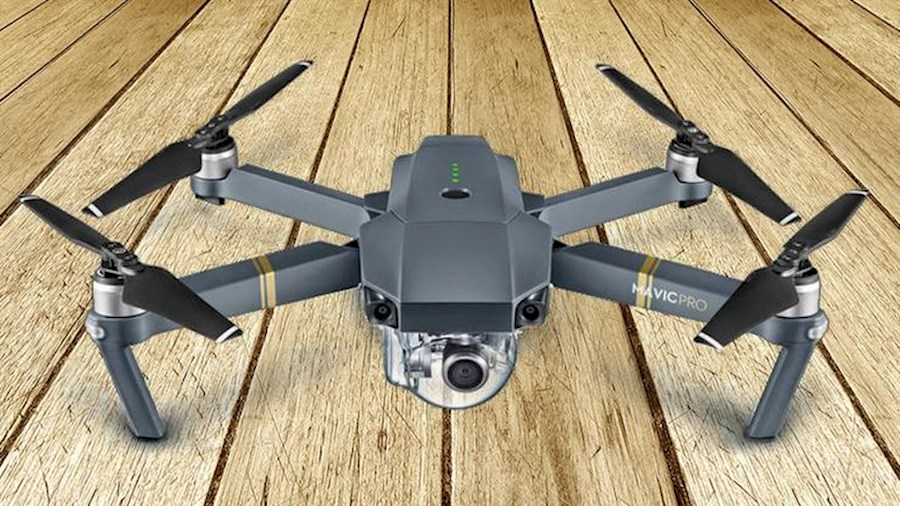 Rent a Drone DJI Mavic Pro + 2nd Battery + Loader + ND Filters