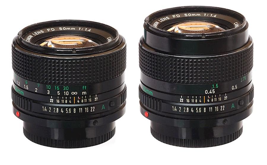 Louez Canon FD 50mm   f/1.4 de Guy