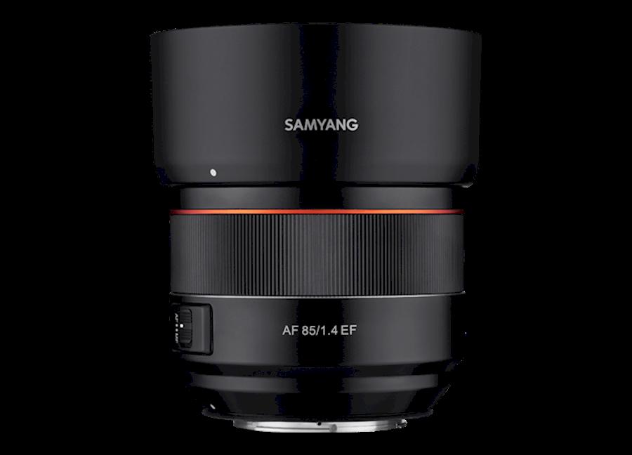 Huur een SAMYANG AF 85mm F/1.4 |  Canon EF mount in Nieuw-Vennep van TRANSCONTINENTA B.V.