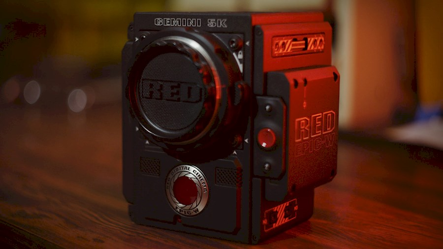 Rent a RED EPIC-W 8K Digital Cinema Camera kit in The hague from Michael