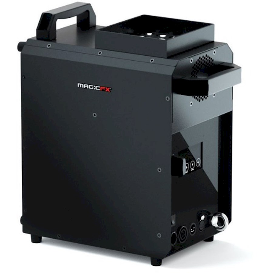 Rent a Magic FX Smokejet rookmachine met LED-verlichting in Holten from STAGE WARE HOLTEN