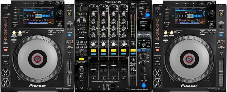 Rent CDJ-2000 Nexus set + D... from Rocky