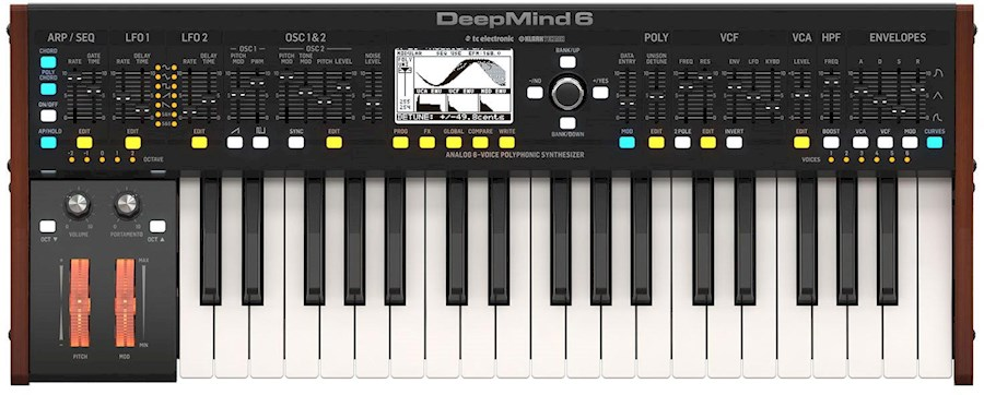 Huur een DEEPMIND 6 analoge synthesizer in Zwolle