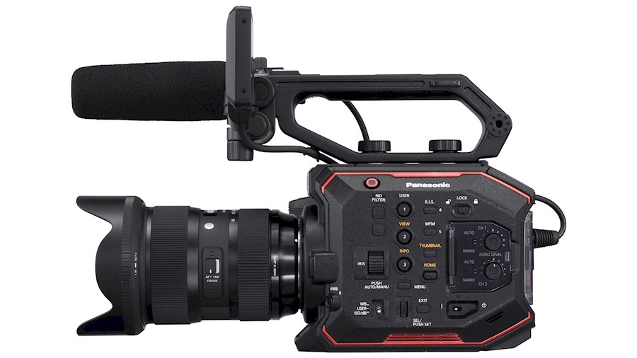 Rent a Panasonic EVA1 in Amsterdam from Joost
