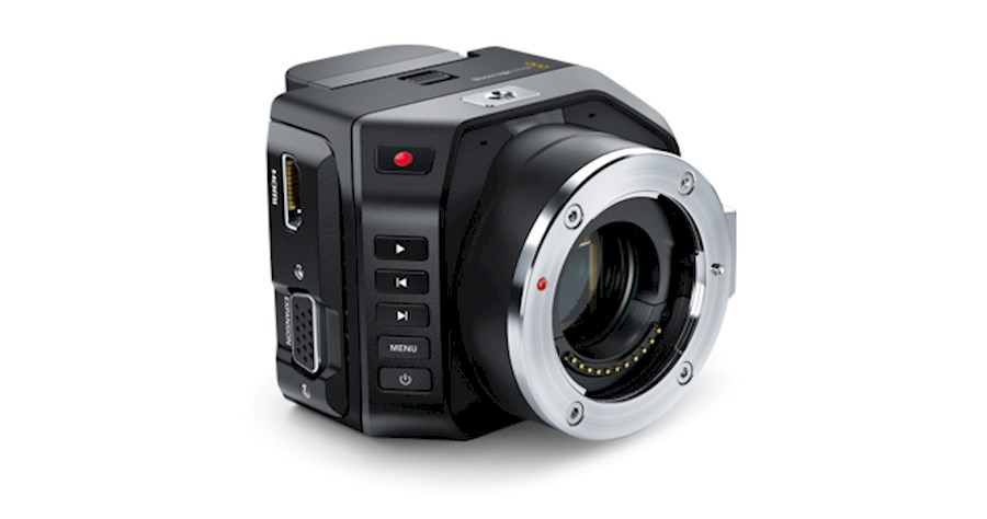 Rent a Blackmagic Micro Cinema Camera incl cage/speedbooster EF in Amsterdam from Bart
