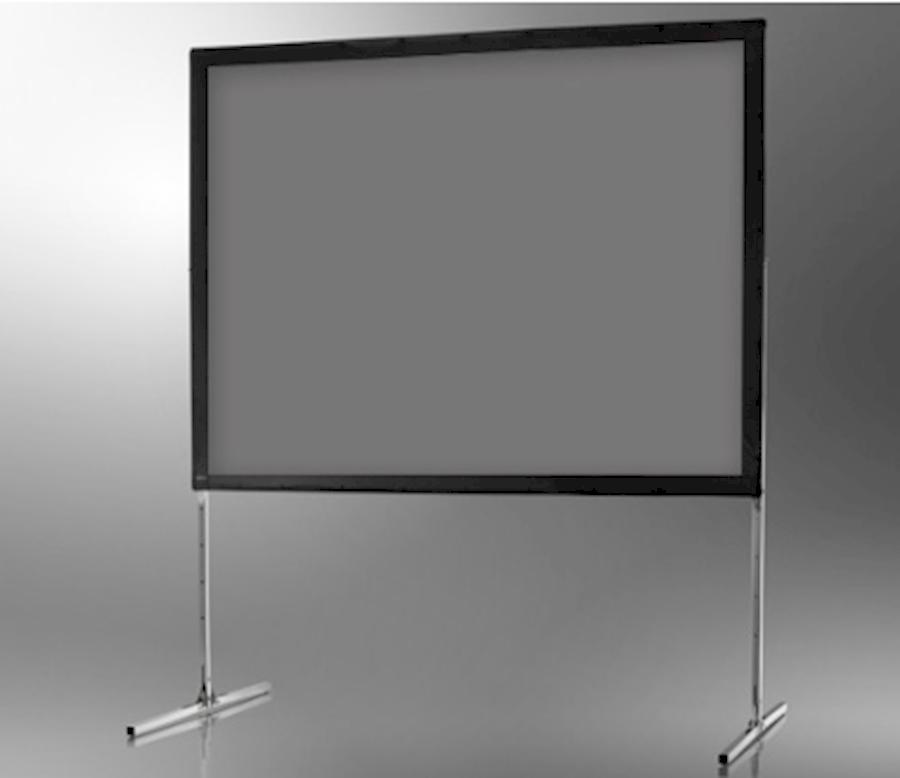 Rent a Celexon span projectiescherm Mobil Expert 244 x 183 cm, backprojection, rear projection, fast fold doorzichtscherm in Haarlem from Asing