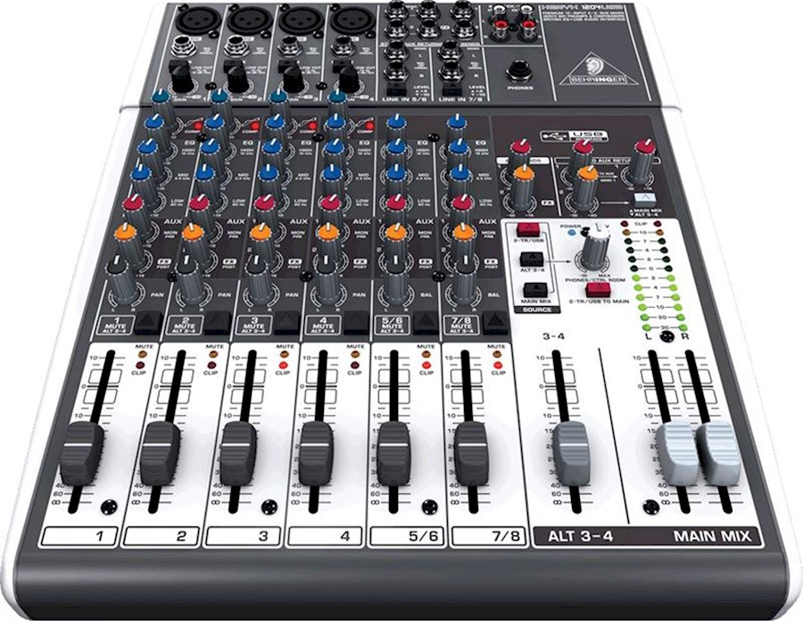 Rent Behringer Xenyx 1204 from Wendaman