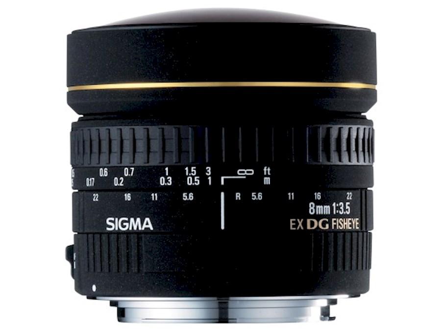 Rent a Sigma 8mm F3.5 Fisheye lens voor Nikon F-mount in Zottegem from Comm.V Vastgoed Visuals