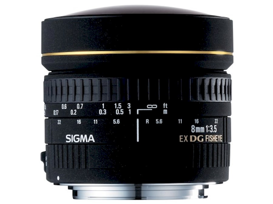 Rent Sigma 8mm F3.5 Fisheye... from Comm.V Vastgoed Visuals