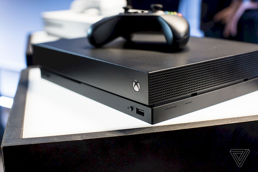 Rent Xbox one X from Jordy