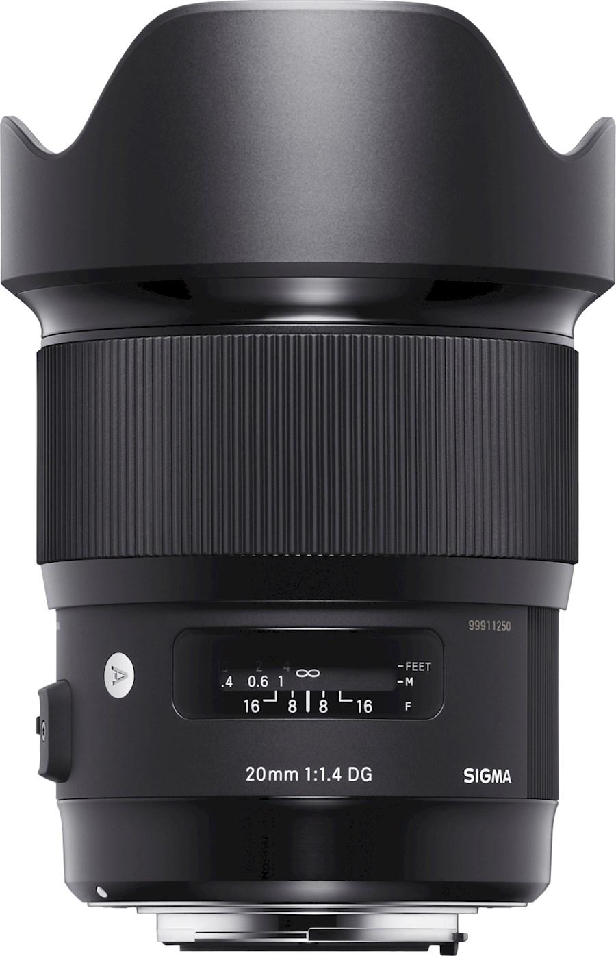 Rent a SIGMA 20MM F1.4 DG HSM | ART Nikon in Rotterdam from SIGMA BENELUX B.V.