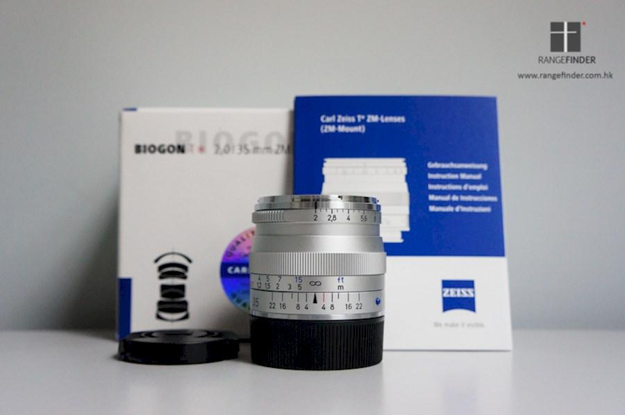 ZEISS 35mm f2 0 Biogon ZM
