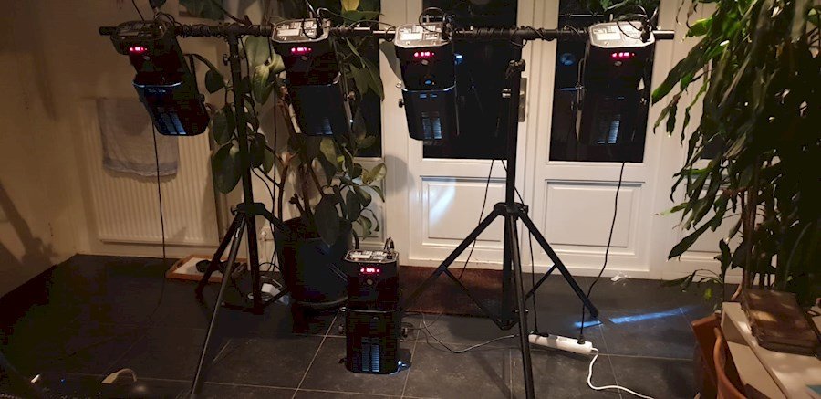 Rent a 5 HQ Power Exciter 250w Scanners in Bilthoven from Boas