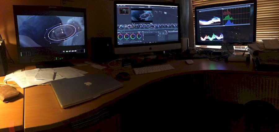 Rent Editing en Grading Suite from BVBA LIGHT IN MOTION