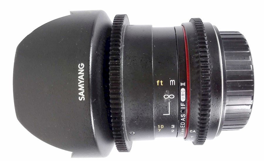 Rent a Samyang 14mm T/3.1 cinema in Nieuwkuijk from BLICK FILM & LIVE V.O.F.