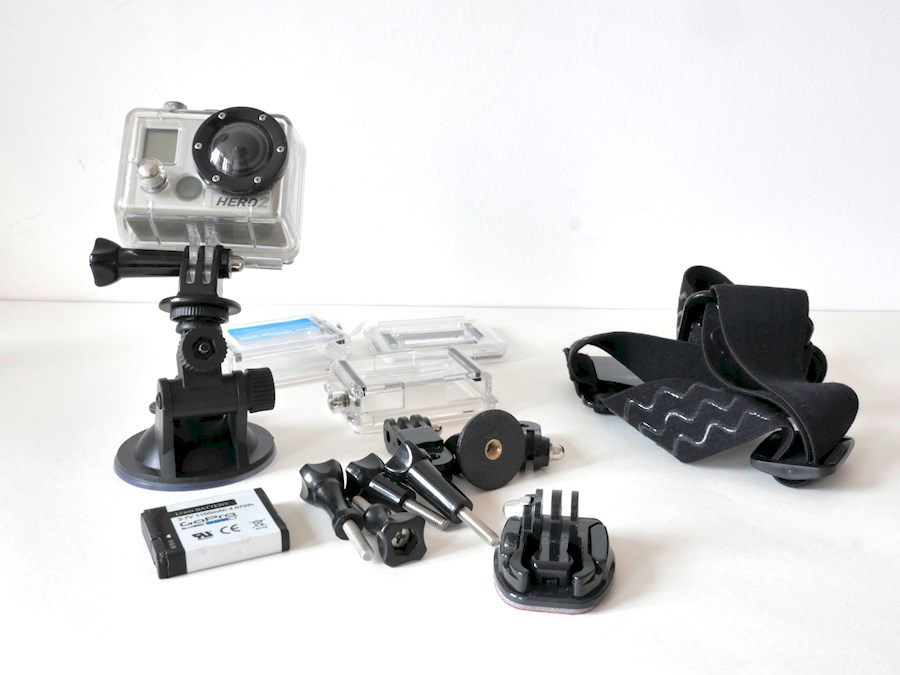 Rent a GoPro HD Hero2 (complete set inclusief LCD monitor) in Breda from EDUFILM