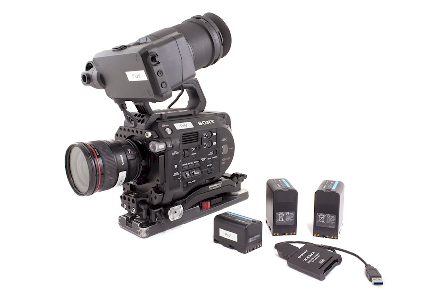 Rent a Sony FS7 Package in Brussel from Hannes