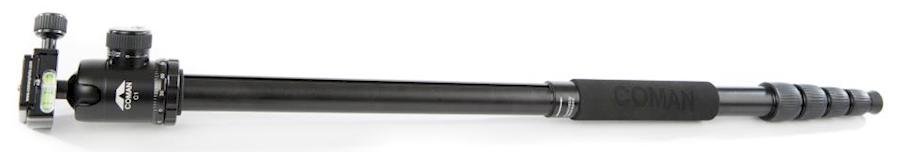 Huur een Statief Coman + C1 Balhoofd aluminium tripod en monopod in Reusel van Toon