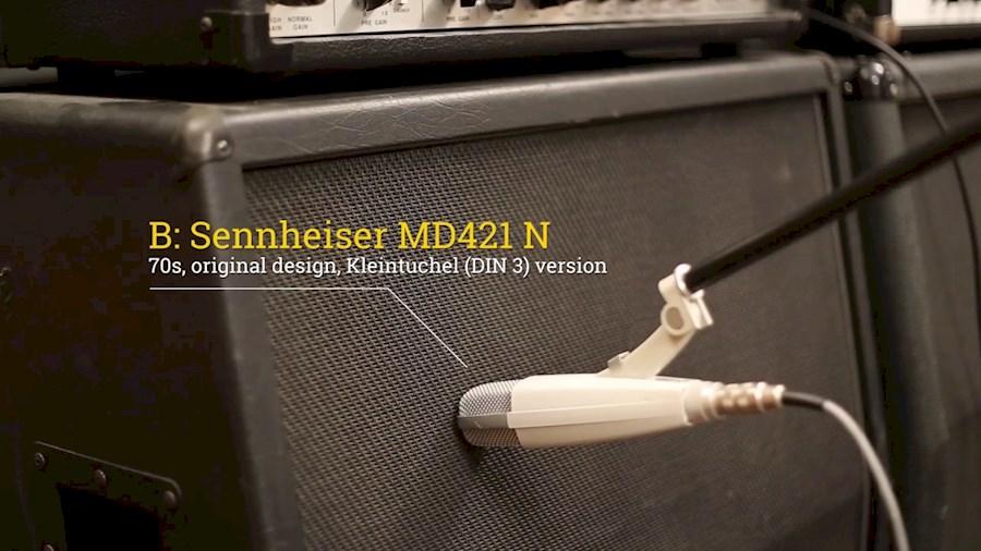 Rent sennhieser MD421N orig... from Peter