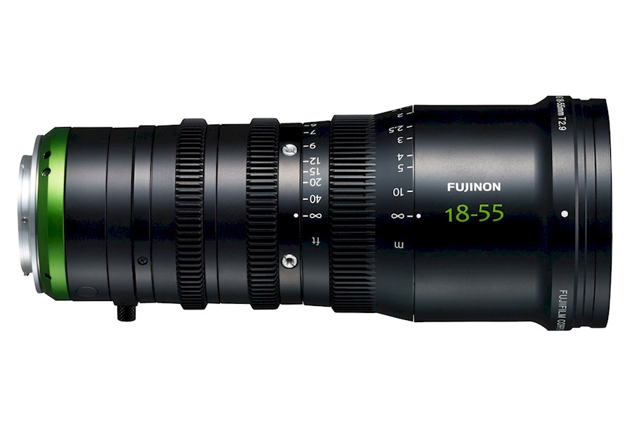 Rent a FUJINON MK 18-55 T2.9 E MOUNT/MFT MOUNT in Boom from Tim
