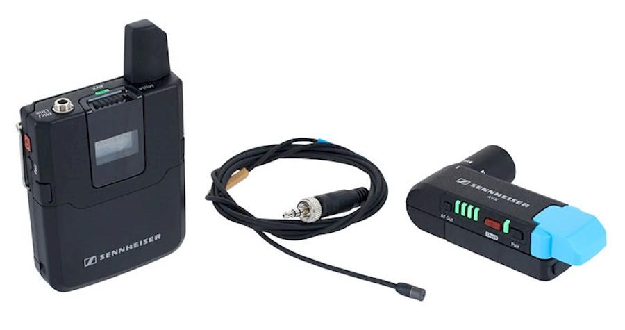 Rent a Sennheiser AVX-ME2 met dasspelmicrofoon in Hoevelaken from Willem