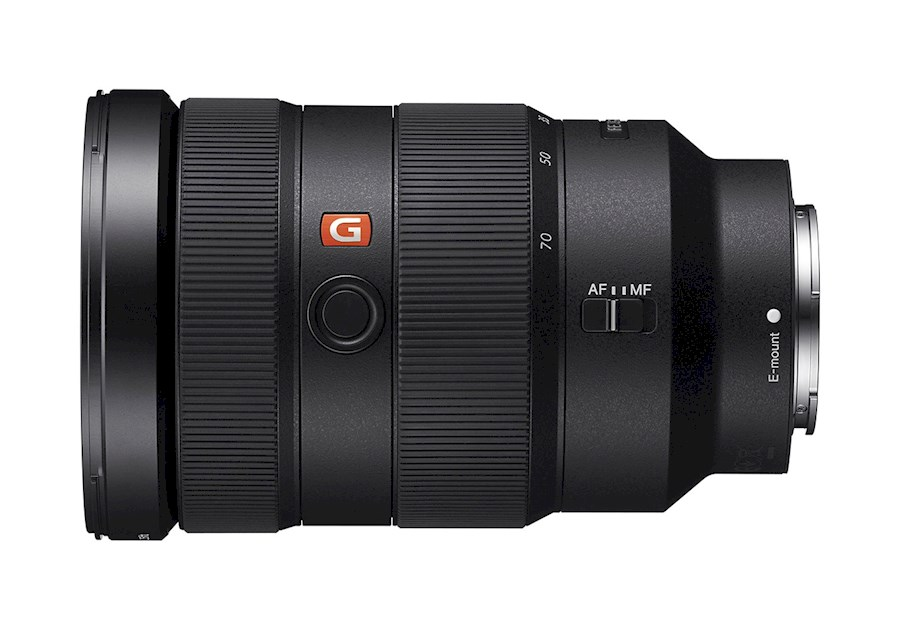 Rent Sony G master 24-70 2.8 from Gideon