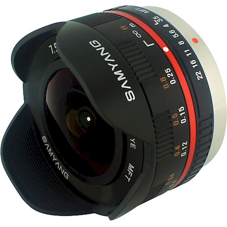 Rent SAMYANG 7,5mm F3,5 UMC... from TRANSCONTINENTA B.V.