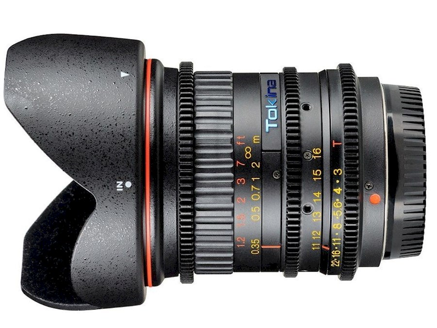 Rent a TOKINA CINEMA ATX 11-16mm T3 Wideangle Zoom Lens in Almere from TSE IMAGING B.V.