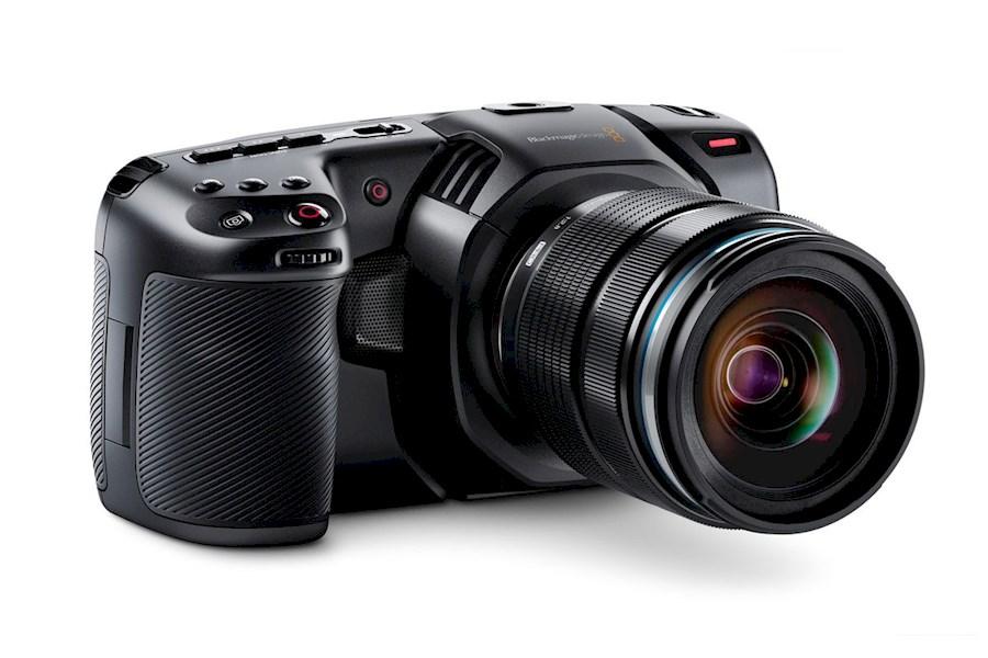 Rent a Black magic pocket cinema camera 4k SET UP + full tilta cage + shoulder rig set + V mount in Almere from Daniel