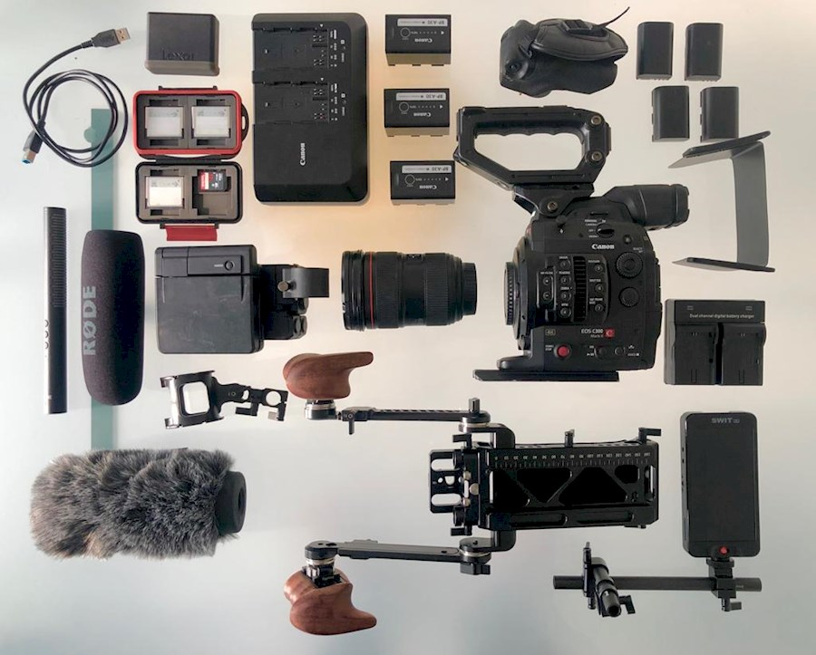 Rent a C300 II cinema kit: L-Lens, SmallRig, Monitor in Amsterdam from Daan