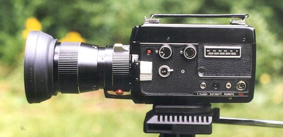 Rent a Super 8 camera Elmo 110R in Niel from Joeri