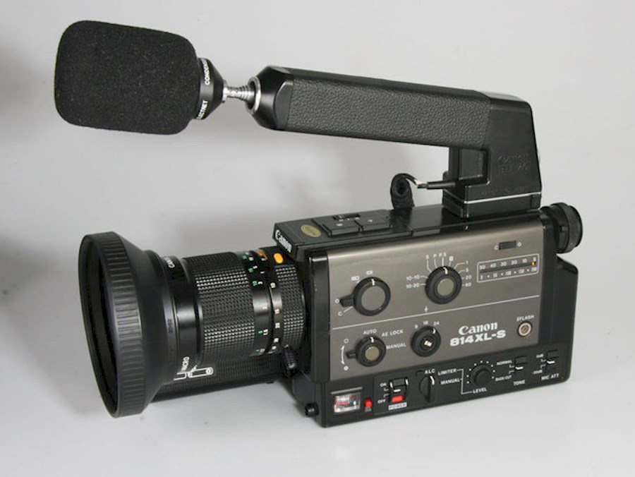 Rent a Super 8 camera Canon 814xl-s in Niel