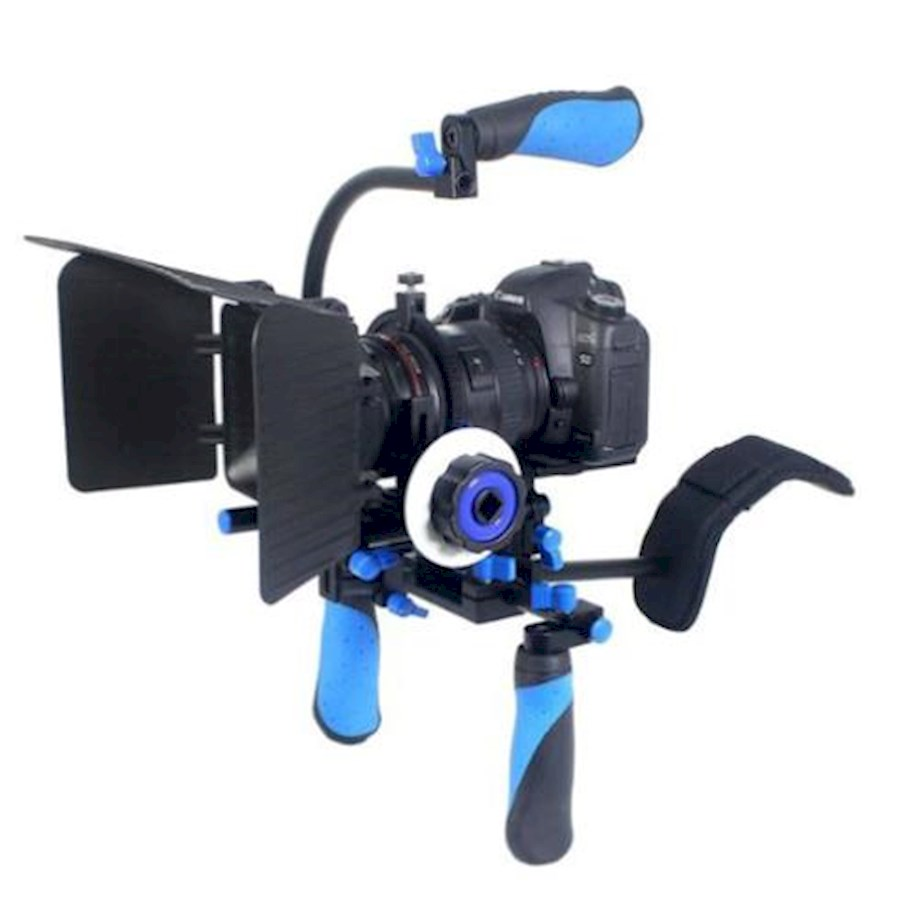 Rent a Videorig met follow focus en matte-box (zeer handig in gebruik!) in Borne from Christian