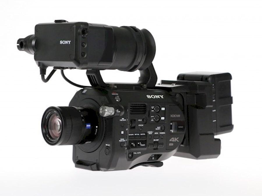 Rent a Sony PXW-FS7 4K XDCAM in Mol from Michel