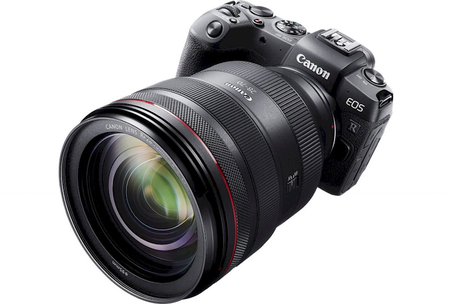 Rent a Canon EOS RP body + EF-RF converter en RF-24-105mm objectief in Rotterdam from CANON NEDERLAND N.V.