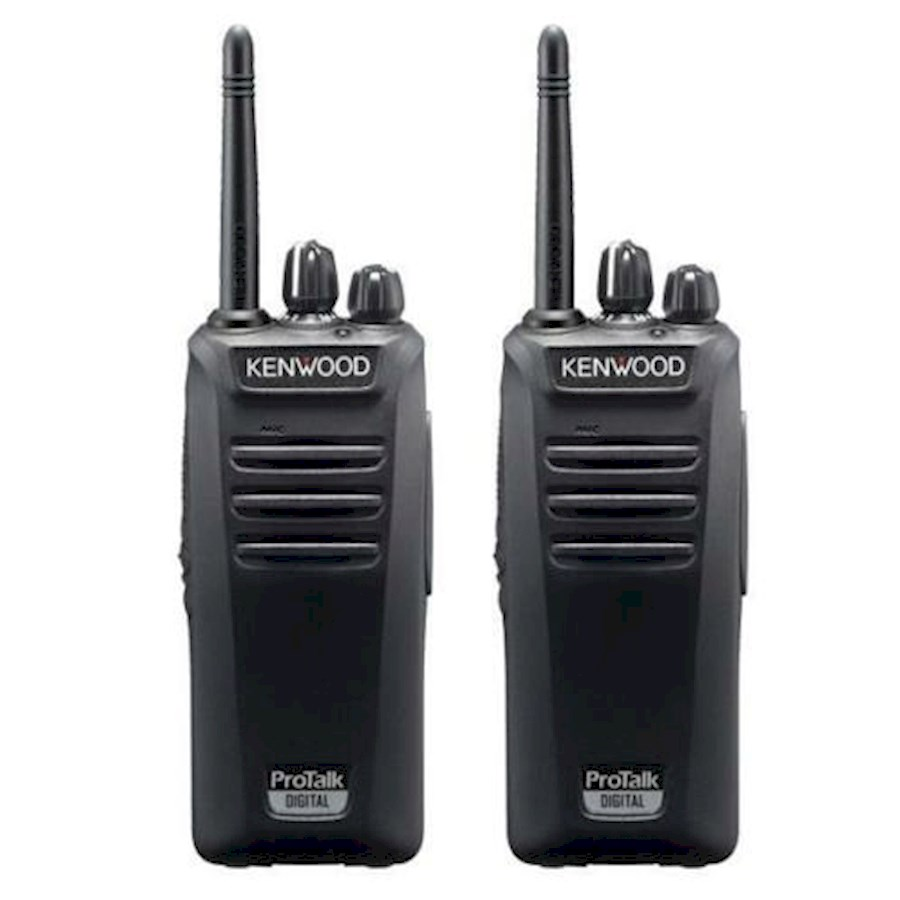Rent a walkie-talkie kewood pro talk digital tk3401d-e +inearheadset in Beringen from Mangelschots, Steven
