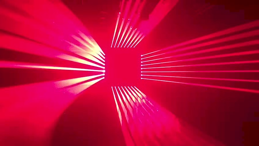 Rent a Laser & LED beam bar in Hilversum from DUTCH INFINITY