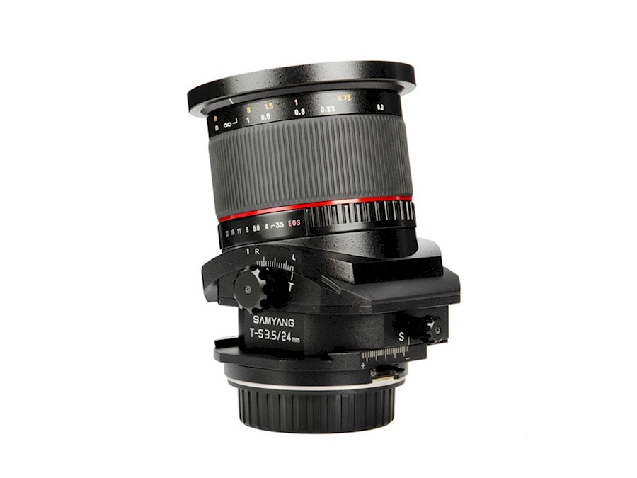 Rent a Samyang 24mm TILT-SHIFT F3.5 ED AS UMC in Montreuil from Nicolas