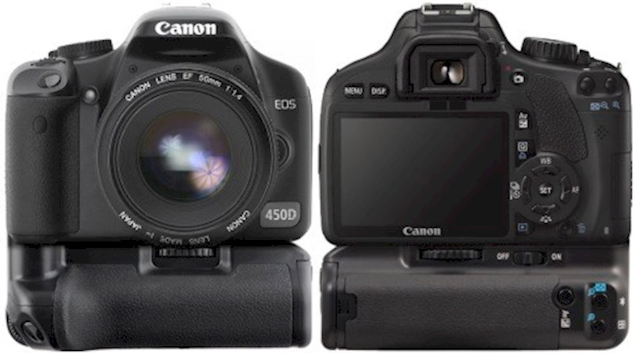 Rent a Canon EOS 450D (Rebel XSi ) with grip DSLR in Berkel en Rodenrijs from Ralph
