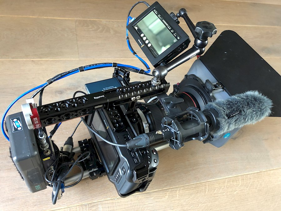 Rent a Pocket Cinema Camera 4K EF full Film Rig in Drachten from Ron
