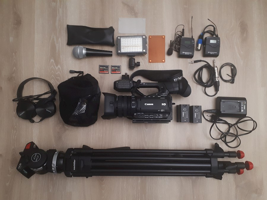 Huur REPORTAGE KIT CANON XF200 van Wouter