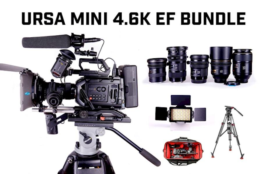 Rent a URSA MINI 4.6K EF FILM BUNDLE in Schaarbeek from Jozef