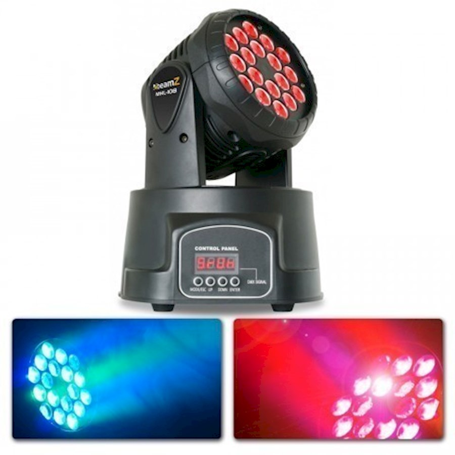 Rent a BeamZ MHL-108 MK3 (18x 3-in-1 RGB LEDs) in Castricum from Daniel