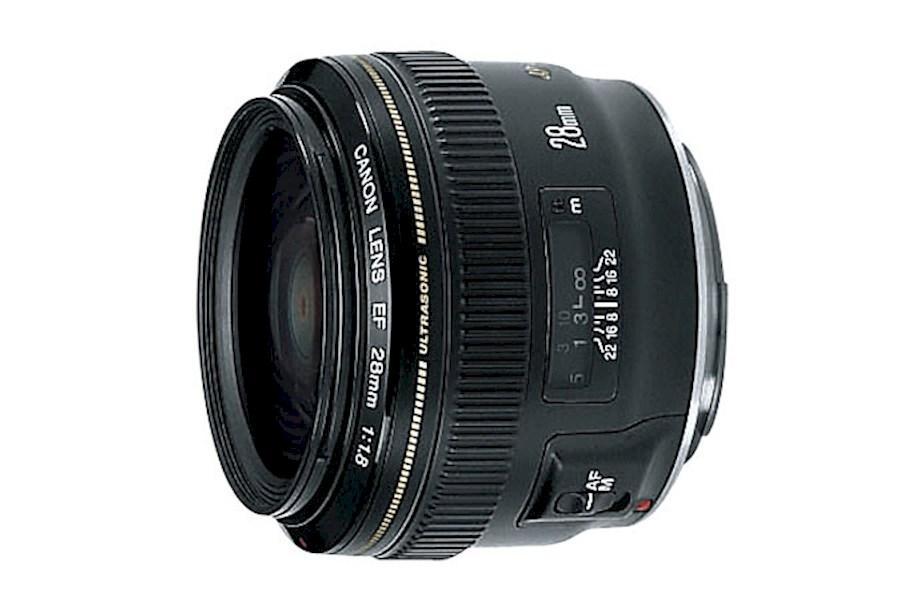 Huur Canon EF 28 mm f/1.8 U... van Jonathan