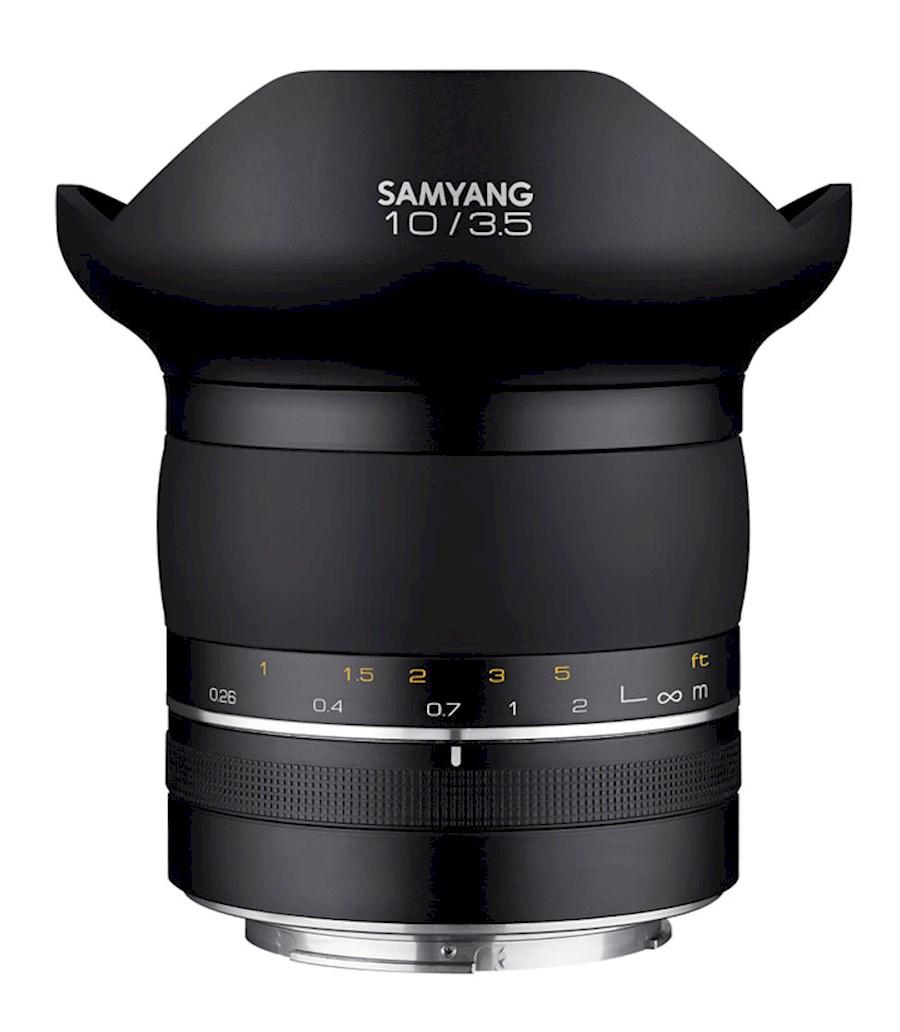 Huur een Samyang XP 10mm F3.5 in Nieuw-Vennep van TRANSCONTINENTA B.V.